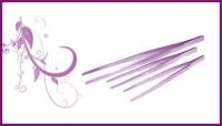 Пинцеты косметологические  острые, прямые, скошенные, закругленные кончики, пинцет-ножниц