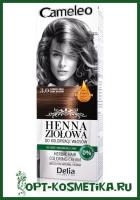 Cameleo Травяная краска для волос тон 3.0 темно-коричневый