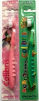 Зубная щетка арт.0903 детская мягкая жесткость К40