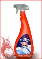 Средство чистящее жидкое «Чистая ванна» AQUASUN