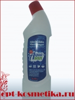 Средство чистящее санитарно-гигиенич. Aquasan Морская свежесть