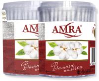 Ватные палочки Amra (цилиндр)
