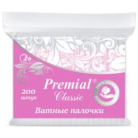 Ватные палочки Premial Classic (в пакете)