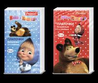 """Платочки бумажные Premial """"Маша и Медведь"""""""