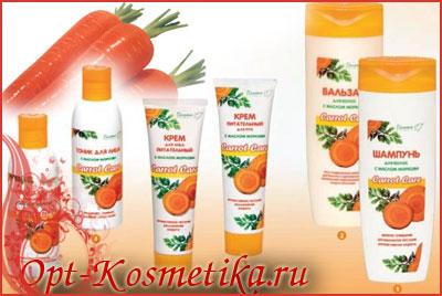елорусская косметика оптом Carrot Care