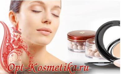 косметика для лица - пудры оптом, румяна оптом